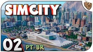 SimCity #02 Coop Apertadinho - Vamos Jogar Gameplay PT-BR