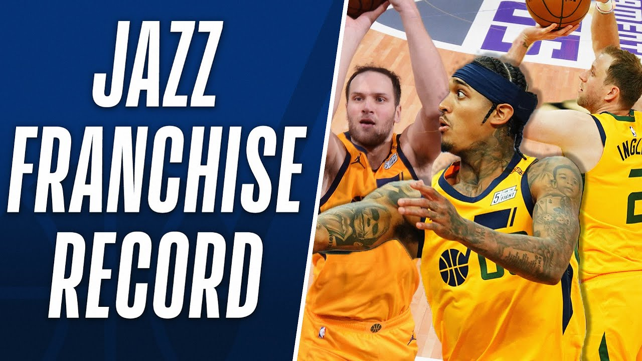 Jazz Post FRANCHISE RECORD 150+ PTS in Win! 🔥
