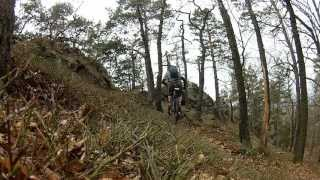 GHOST Cagua 6590 - Enduro trip Brdy