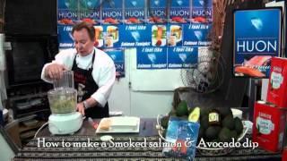 Avocado Smoked Salmon Dip