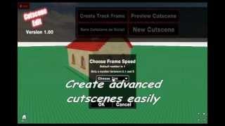 Roblox: Cutscene Editor Plugin