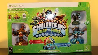 Skylanders Swap Force - STARTER PACK UNBOXING!
