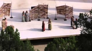 Hecuba Greek drama at Zion Canyon dixie state OC Tanner amphitheater