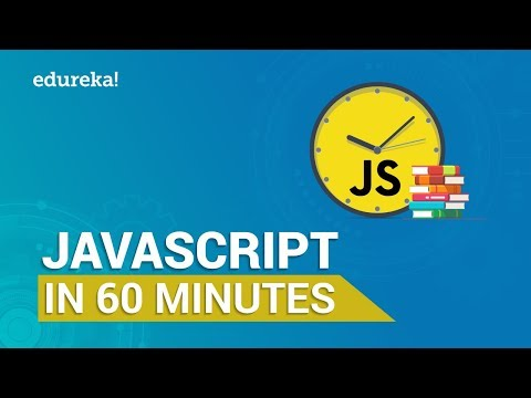 Learn JavaScript in 60 Minutes | JavaScript Crash Course | JavaScript Tutorial | Edureka