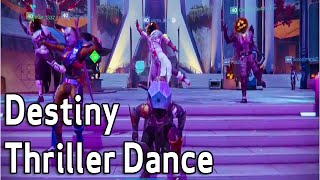 Zombie Dance Thriller - Destiny Funny Gameplay