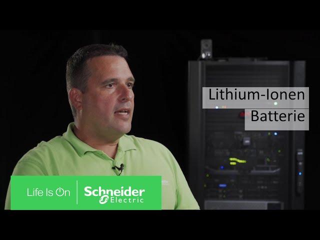 Lithium-Ionen Batterie | Schneider Electric