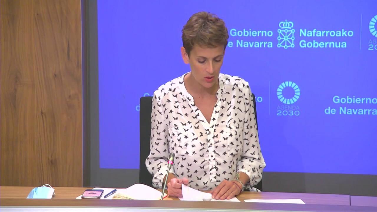 Navarra en la fase 3. Limitaciones y peculiaridades