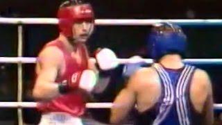 Бокс Алексей Лёзин- Михаил Юрченко  Олимпиада 1996 +91 кг
