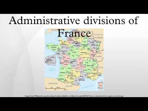 Administrative divisions of France