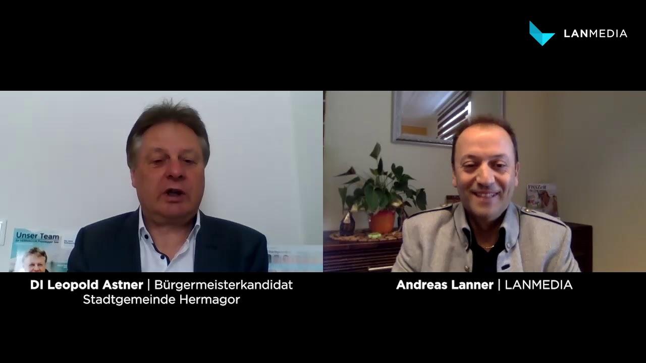 Leopold Astner | Bürgermeisterkandidat Stadtgemeinde Hermagor