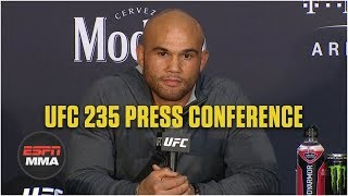Robbie Lawler UFC 235 Postfight Press Conference | ESPN MMA