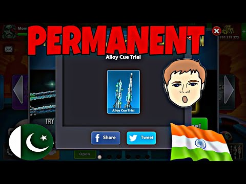How To Get Alloy Cue Permanent In Your Account    100% Working Trick