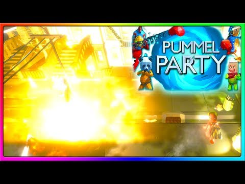 WE ARE CHEATING | Pummel Party Gameplay With The Crew