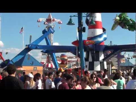 Rides & games at coney island 2012