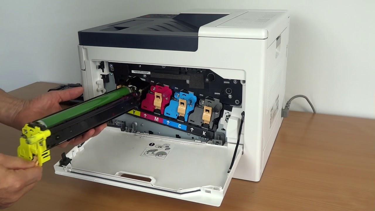 Wechsel Der Trommeln Beim Xerox Phaser 6510 Bzw Workcentre 6515