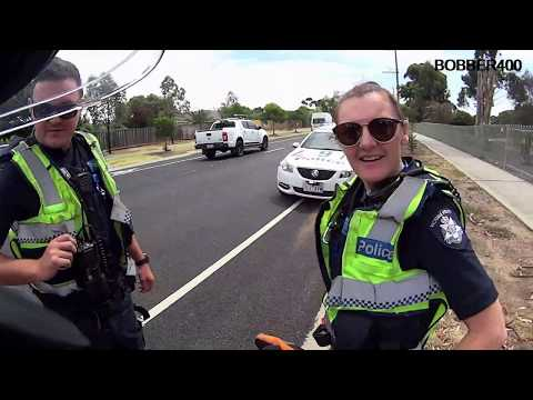 INTERACTIONS in MELBOURNE #5 Nice tatts/Top cops/G'day Randy/Ol' matey/Woofer/Hello cocky/Nice car