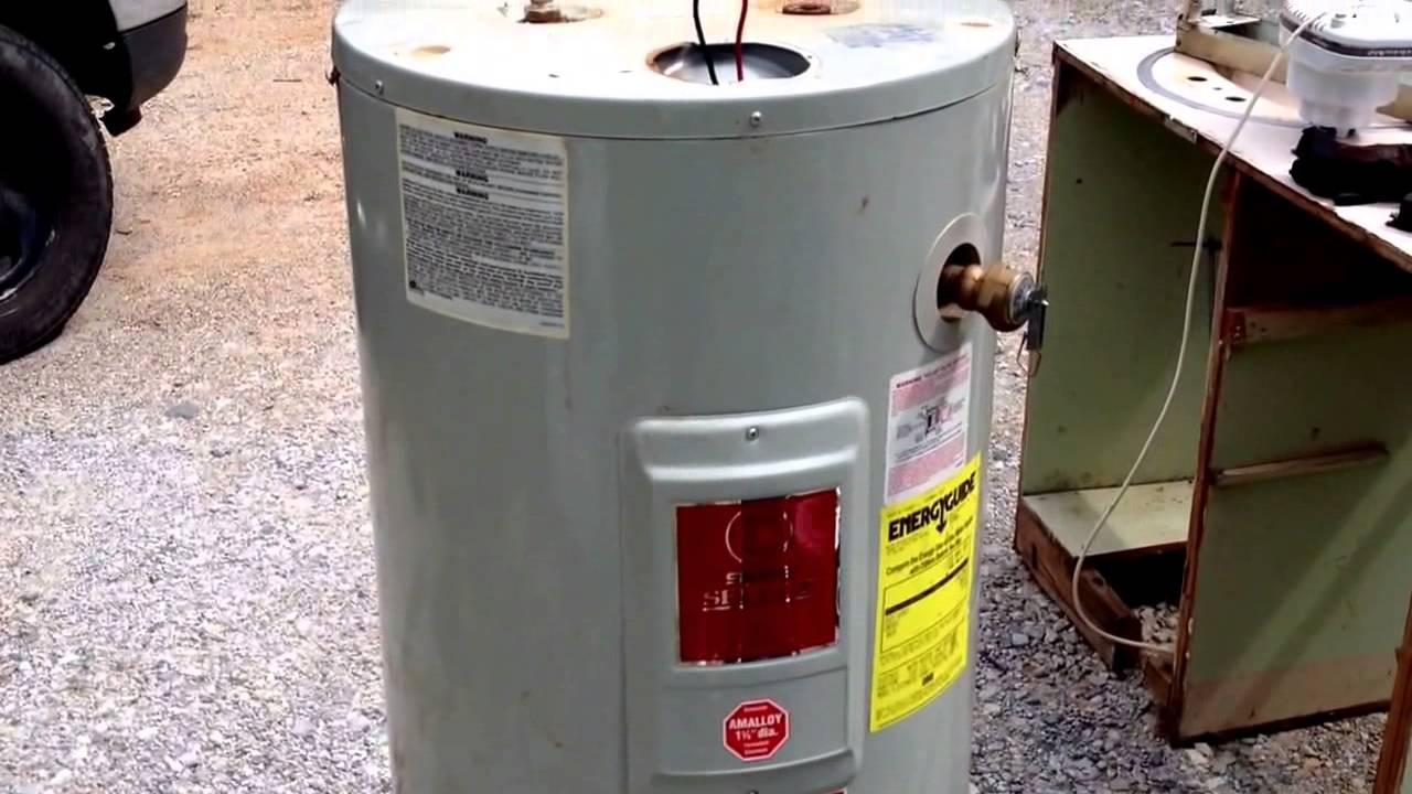 water heater scrap price