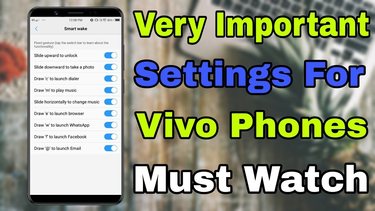 Very Important Settings For Vivo Phone Must Watch Vivo User 🔥100