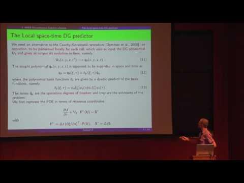 """Discontinuous Galerkin Methods for Hyperbolic PDEs: 2"" - Olindo Zanotti"