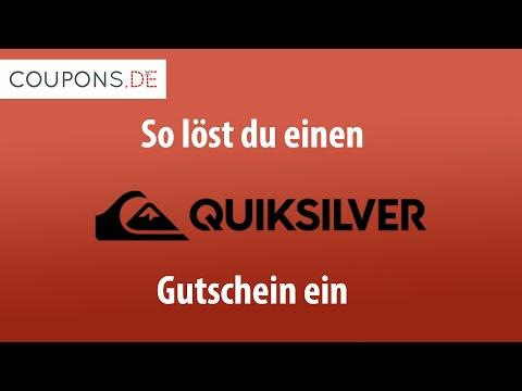the best attitude 62c9b d1a97 Quiksilver Gutschein einlösen – Anleitung