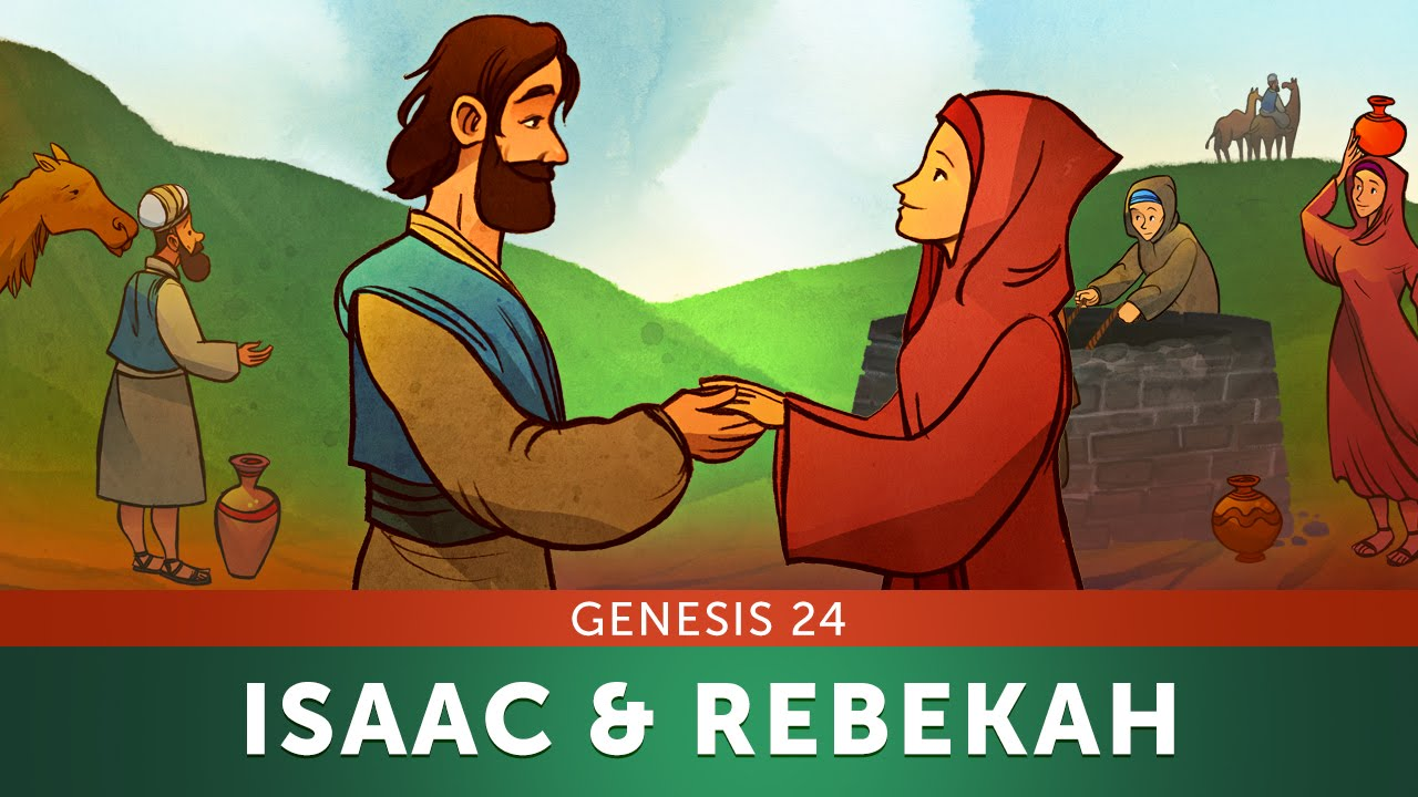 Sunday School Lesson - Isaac and Rebekah - Genesis 24 - Bible Teaching  Story for VBS - YouTube [ 720 x 1280 Pixel ]