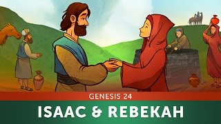 Sunday School Lesson - Isaac and Rebekah - Genesis 24 - Bible Teaching Story for VBS