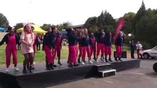 2014 Winners of the best composed War Cry - UFS Open Day