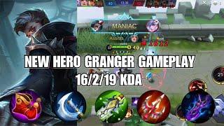 GRANGER GAMEPLAY   MANIAC!   Mobile Legends