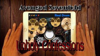 Avenged Sevenfold - Unholy Confessions [ Real Drum Cover]