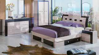 New designs of bedroom furniture Bed arrangement ideas