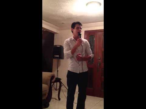 Preciosa karaoke Mark Anthony