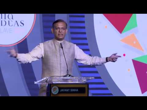 Jayant Sinha at India Ideas Conclave 2017