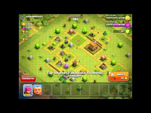 Clash Of Clans - Starting Clash From Scratch #8 - REBUILDING OUR CLAN CASTLE!