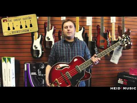 Heid Music Great Guitar Road Show - Gregg - Ibanez AFB200 Bass
