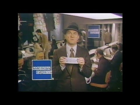 American Express Retro Commercial (1978) Vintage TV High Quality