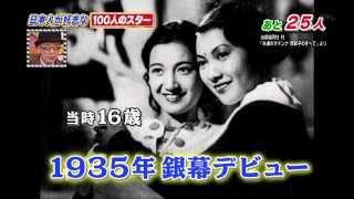 1936年、原節子さんのドイツ合作映画出演シーンです。 ご冥福をお祈りい...