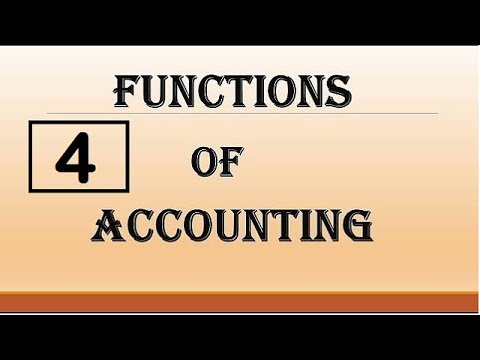 the basic functions of an accounting Accounting, finance, management you are here: home / general / budgeting: what are the functions of budgeting budgeting: what are the functions of budgeting.