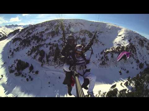 Parapent Andorra, Paragliding in Grandvalira