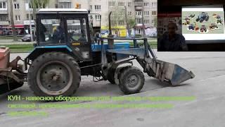 Трактор с КУНом. Нужны ли отдельные права на кун? Какие права нужны для МТЗ?