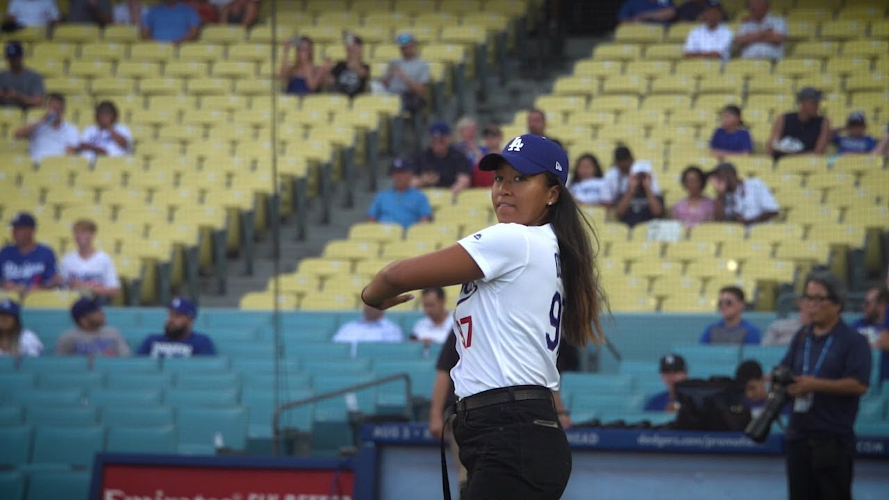 Baseline Watch Osaka Throws Ace First Pitch At Dodgers Japan Night