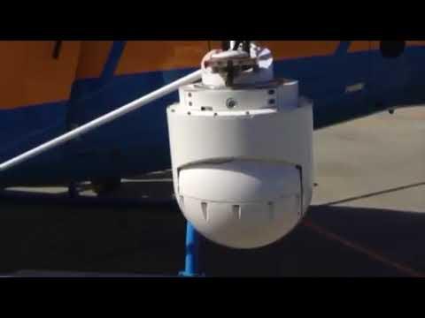 El helicóptero pegasus en el colegio de Cambeo 24 4 18