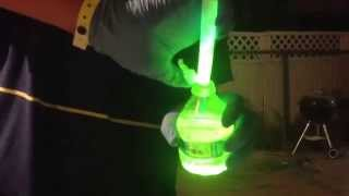 REAL!!! glow in the dark water bottle (NO BLACKLIGHT)