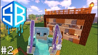 Minecraft - FANCY HOUSE & ARMOR ! Ep.2 - SOURCEBLOCK SMP ( Lets Play )