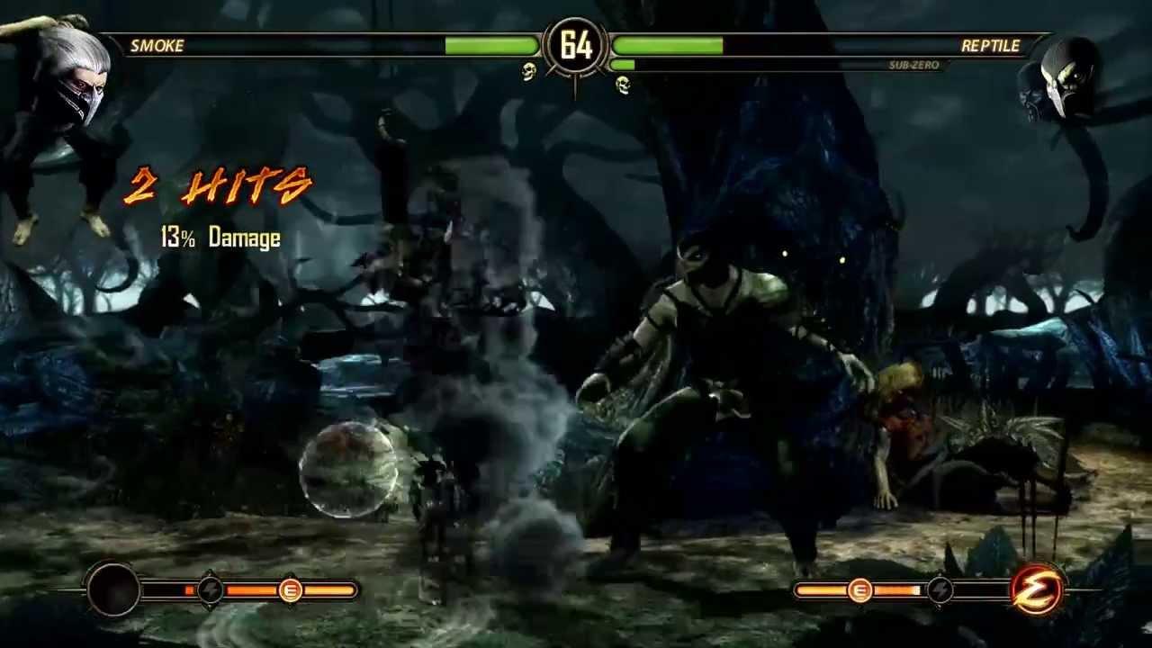 Mortal Kombat Komplete Edition #18 Smoke vs Sub Zero y ...