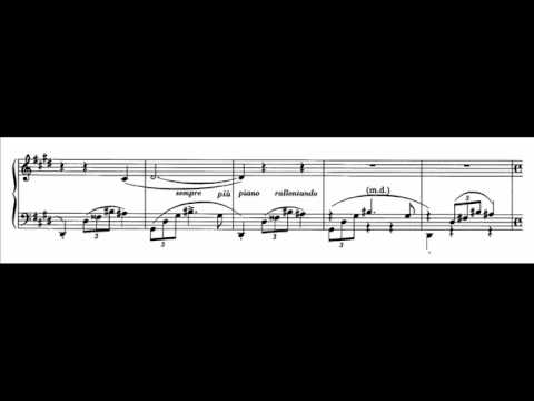 Vásáry plays Chopin - Nocturne in C-sharp minor, op. posth. Audio + Sheet music