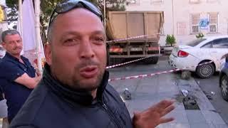 Kalp Krizi Geçiren Kamyon Sürücüsü 3 Araca Çarptı