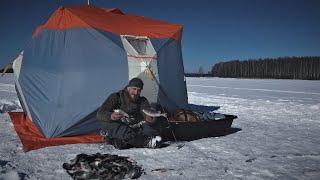 Отвёл Душу На Зимней Рыбалке Ловля Плотвы на Поплавок