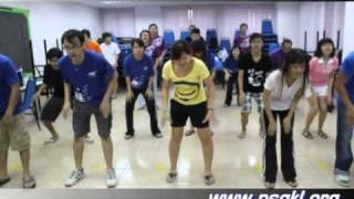 【团康】雪隆年少情2010团康舞蹈@-Woosa Woosa