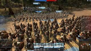 Total War Arena Обзор. Спарта, фаланга гоплитов