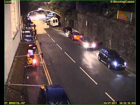 Stapleton Road shooting in Bristol - new CCTV footage